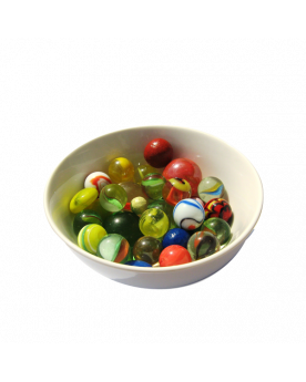 1 Shooter Marble Néon 25 mm Glass Marbles