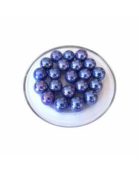 1 Big Marble Perle Rouge 35 mm Glass Marbles