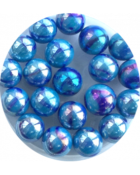1 Shooter Marble Perle Noir 25 mm Glass Marbles