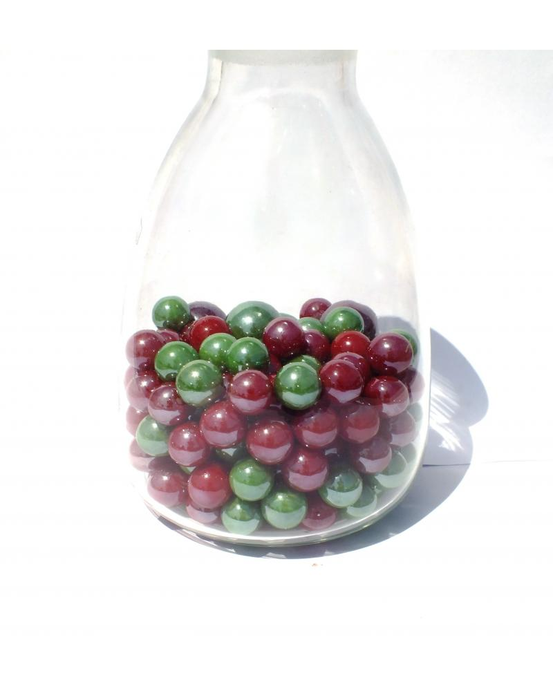 1 Marble Loupe Cristal 16 mm Glass Marbles