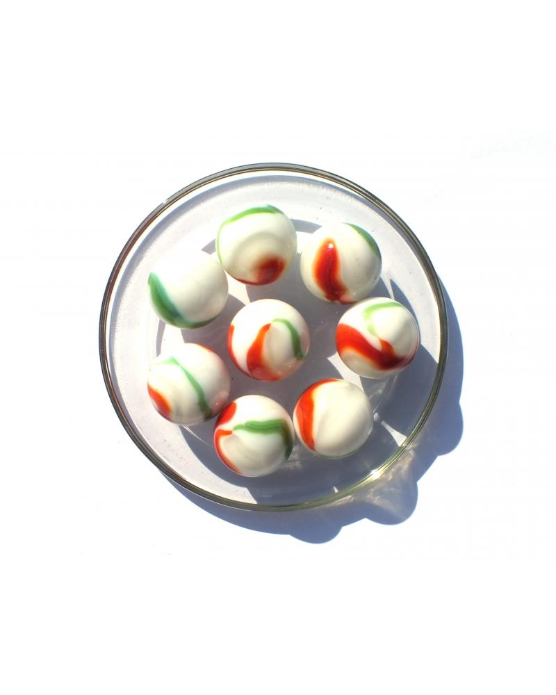 1 Shooter Marble Croco 25 Glass Marbles