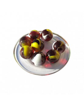 1 Marble Perroquet 25 Glass Marbles