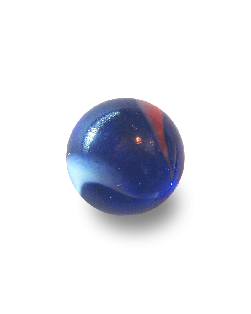 1 Marble Perroquet 16 mm Glass Marbles