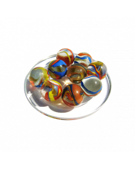 1 Shooter Paquerette 25 mm Glass Marbles