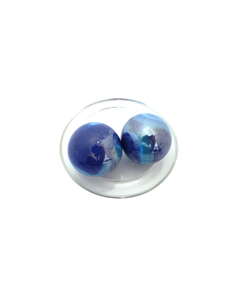 1 Big Marble Cyclone 35 mm Glass Marbles
