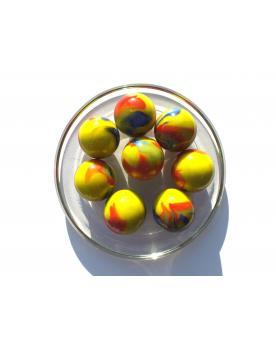 1 Shooter Marble Planète Rouge 25 mm Glass Marbles