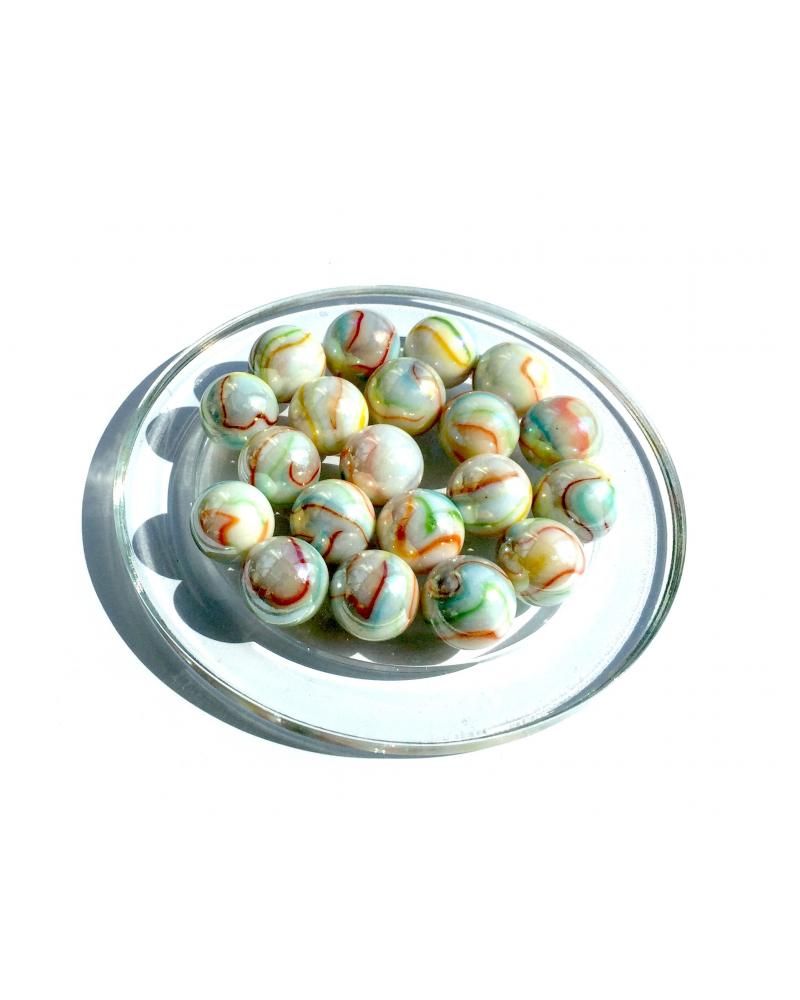 1 Big Marble Ozone 35 mm Glass Marbles