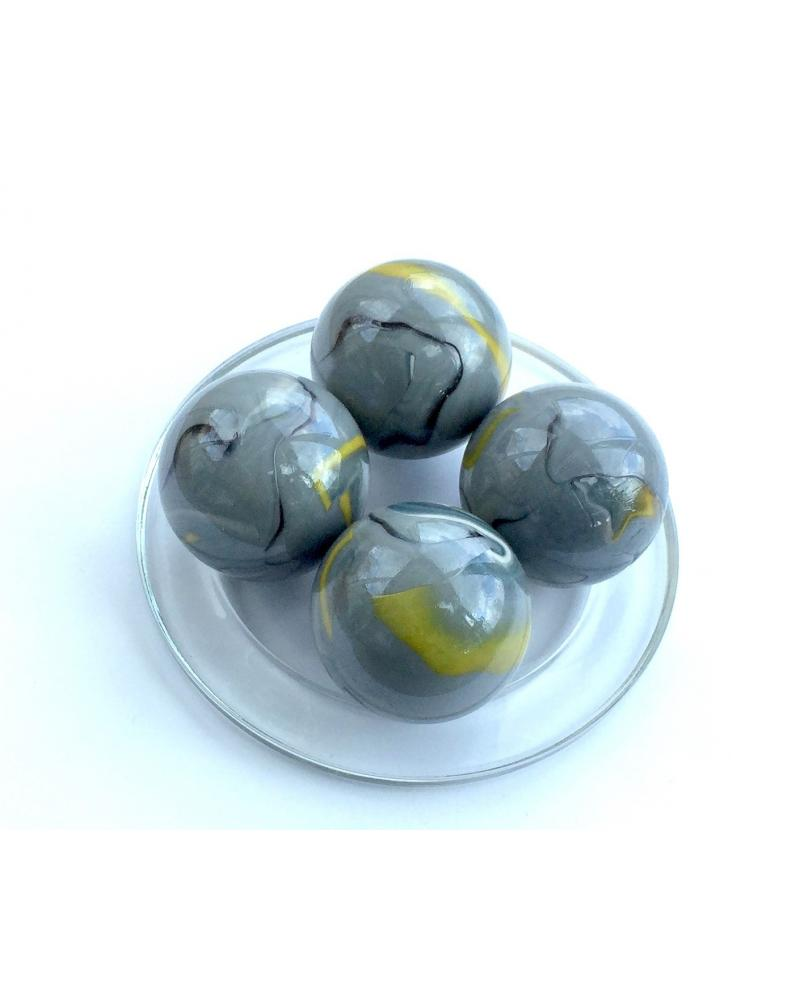 1 Large Marble Ozone 43 mm Glass Marbles