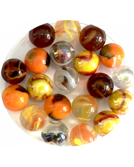 1 Marble Oeuf 25 mm Glass Marbles