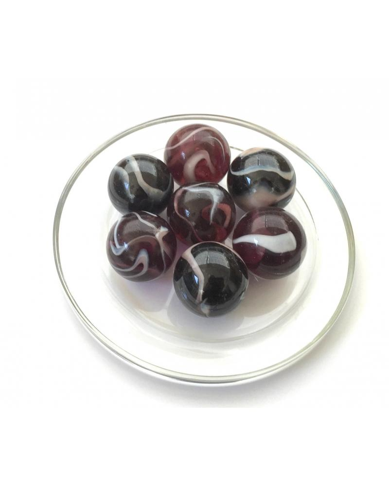 1 marble Plate Cristal 16 mm Glass Marbles