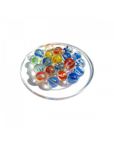 1 Marble Française 25 mm Glass Marbles