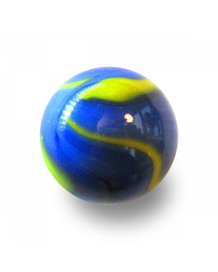 1 Marble Banquise 25 mm Glass Marbles
